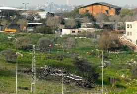 حمله مجدد ارتش اسرائیل به خاک سوریه: سقوط جنگنده اف ۱۶ اسرائیل و پهپاد ایران