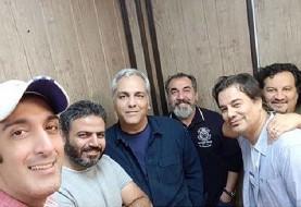 عکس آشتی برادران قاسمخانی با مهران مدیری