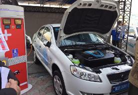 تصاویر خودروی رانا برقی: رونمایی اولین خودروی تمام برقی ایرانی