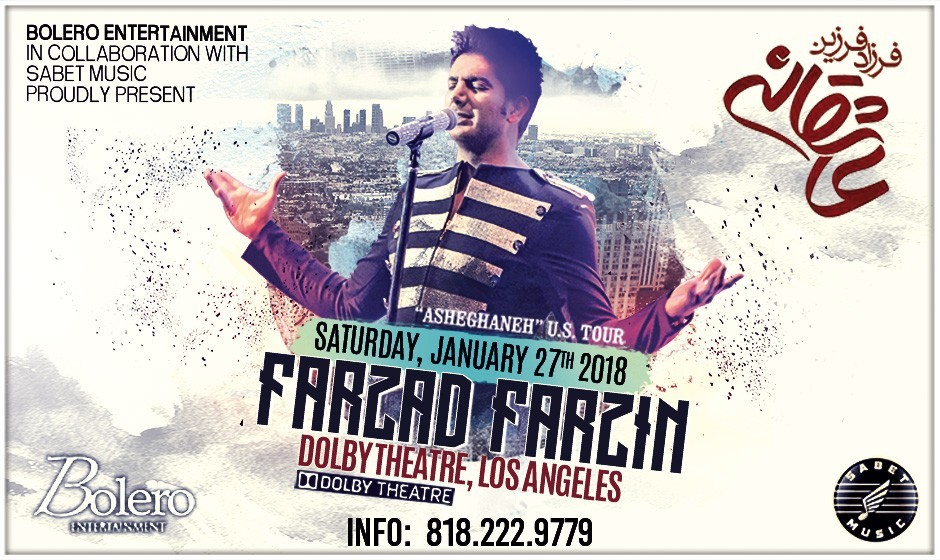 Farzad Farzin Live In Los Angeles: Asheghaneh US Tour