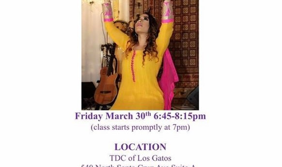 Persian Dance Workshop with Kimia