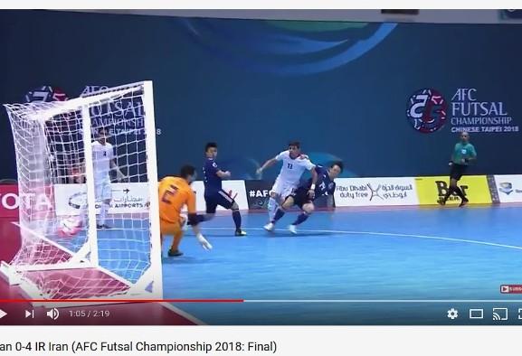 Iran crushes Japan to win 12th AFC Futsal Championship
