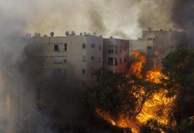 موج گرما در اسرائیل آتشسوزی در این کشور را گسترش داده است
