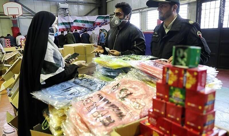 دلار و ماسک نایاب شد! عکس: کشف ۵.۵ میلیون ماسک احتکار شده در طی ۲۴ ساعت در تهران! بازداشت ۳۷ دلال ارز