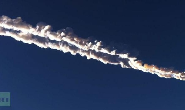 Videos: Meteorite explosion stirs panic in Russia, Injures hundreds