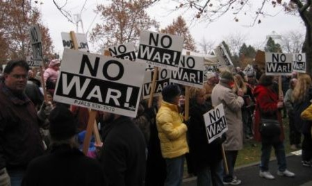 Mass March to Stop War On Iran
