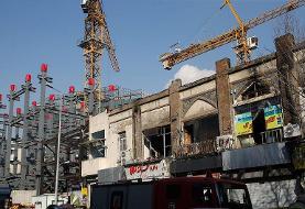 ادامه آتش سوزی ها: این بار انبار لباس چهارراه استانبول در ضلع شرقی پلاسکوی قدیم