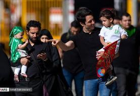تصاویر گردهمایی شیرخوارگان حسینی در تهران