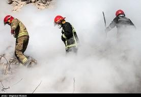 در سالگرد پلاسکو یک آتشنشان تهرانی دیگر در انبار کالا جاده خاوران جان باخت