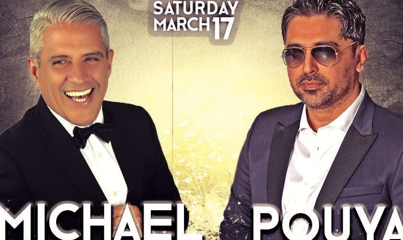 Pouya and Michael live in Las Vegas Nowruz Concert