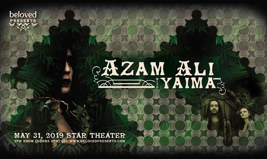 Azam Ali with Yaima in Portland, Oregon