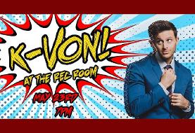 FREE Ticket OFFER for K-von, The Most Famous Half-Persian Comedian - Age ۱۳+