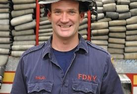 یکی از قهرمانان که در حادثه ۱۱ سپتامبر به صدها نفر کمک کرده بود در ۴۵ سالگی درگذشت