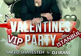 Valentine's VIP Party with Saeed Shayesteh