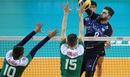 شکست دور از انتظار تیم ملی والیبال نوجوانان ایران پس از پیروزی برابر بلغارستان