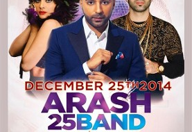 Arash, ۲۵Band in Christmas Iranian Concerts