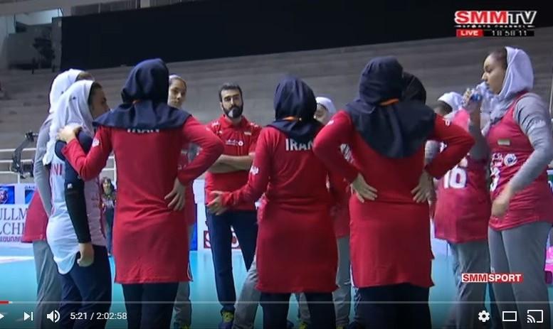 شکست سنگین دختران نوجوان والیبال ایران مقابل چینتایپه: آیا گرمازدگی و حجاب تاثیر داشت؟