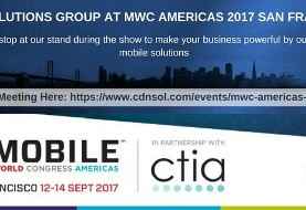 CDN Solutions Group at Mobile World Congress MWC Americas ۲۰۱۷