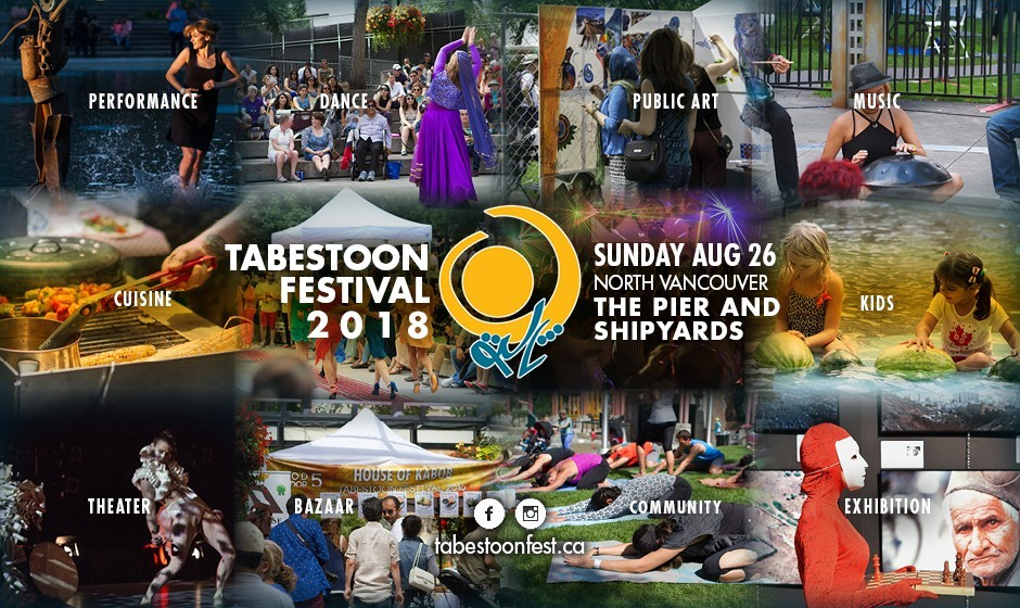 Tabestoon Festival: The 1st Contemporary Iranian Arts and Music Festival in Western Canada