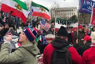 Loyalist Iranian Flag Among Trump Supporters Who Stormed the US ...