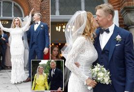 پیتر اشمایکل دروازهبان افسانهای دانمارک با مدل مجله پلیبوی ازدواج کرد