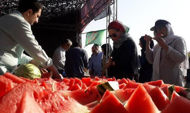 In Pictures: Tears and Watermelon! Iranian Women Allowed into ...
