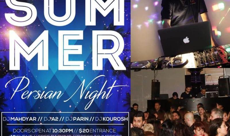 Summer Luxury Persian Night