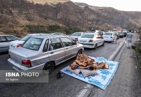 Millions of Tehran residents head North, Haraz Passway jammed