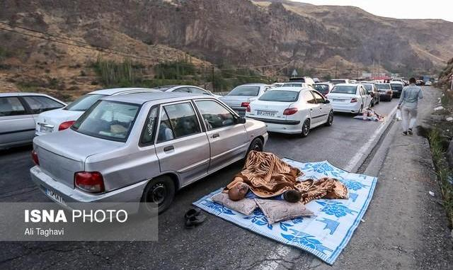 ترافیک سنگین در هراز در پی هجوم  تهرانی ها: کندوان مسدود میشود