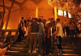 طرح ضربتی پلیس: پاکسازی پارک دانشجو و محوطه تئاتر شهر از مزاحمان، مجرمان و خرده فروشان موادمخدر + عکس
