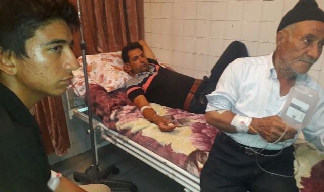شمار مسمومشدگان روستای صندل آباد بجنورد به علت نامعلوم ۸۴ نفر شد