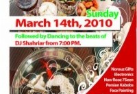 ۱۴th Annual NawRooz Bazaar in Ottawa