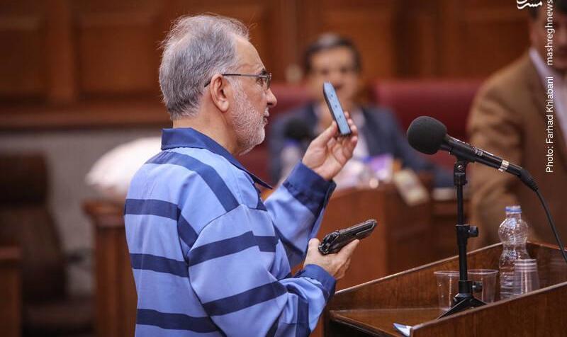 تصاویر پایان دادگاه محمدعلی نجفی