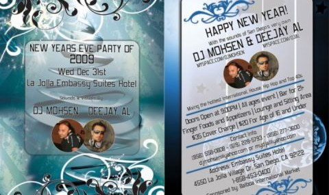San Diego Persian New Years Eve Party