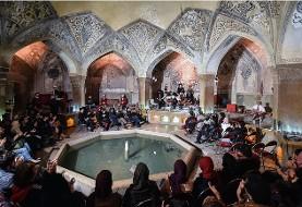 German string quartet performs at Iran's historic monument in Shiraz