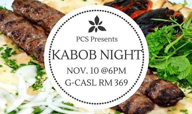 Persian Cultural Society Presents Kabob Night