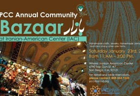 Annual Iranian American Community Bazar