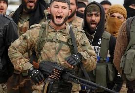 به روایت تصویر: عملیات نظامی نیروهای ترکیه در مرز سوریه