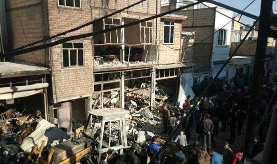 انفجار چندین خانه در اسلامشهر: مصدومیت ۱۲ تن