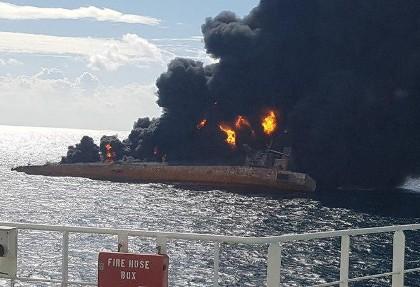 کاپیتان سلامتی: علت تصادف سانچی احتمالا عدم رعایت حق تقدم در دریا بود و اینکه کشتی چینی دور نزد
