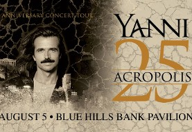 Yanni ۲۵: Acropolis Anniversary Concert Tour in Boston
