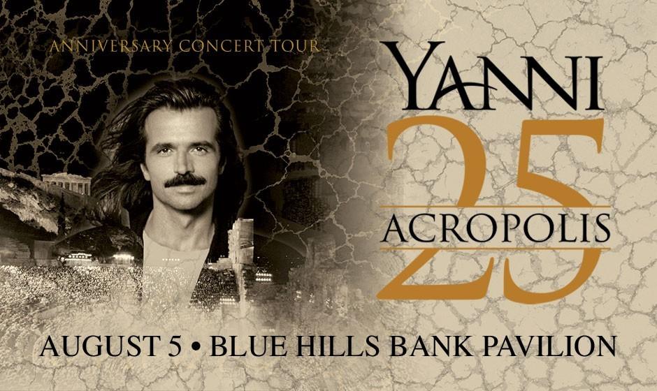 یانی ۲۵: تور سالگرد کنسرت آکروپلیس در بوستون