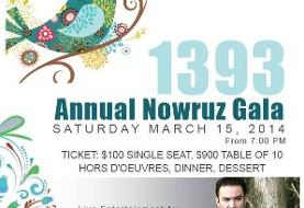 Nowruz ۲۰۱۴ Celebration Gala