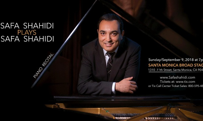 Safa Shahidi plays Safa Shahidi Piano Pieces: Persian and Western classical music