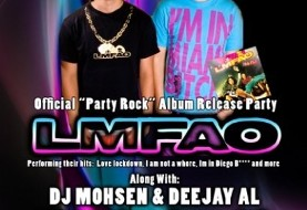 "DJ Mohsen and DJ Al in LMFAO Official ""Party Rock"" Album Release Party"