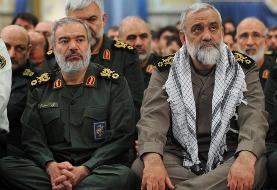 سرداران فدوی و نقدی به عنوان جانشین و معاون هماهنگ کننده سپاه از رهبری حکم گرفتند