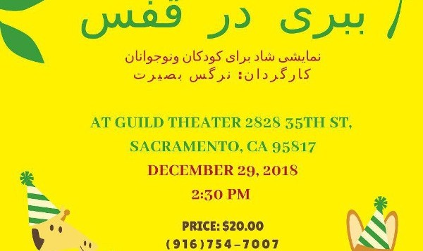 Tiger in a Cage, A Persian Play for Children By Narges Basirat