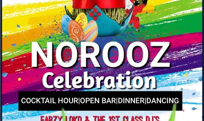 CANCELED: Nowruz 2020 Celebration, Dinner, Open Bar and Live Music by Farzy Loko