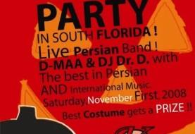 Biggest Persian Halloween Party