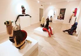 نمایشگاه آثار مجسمه سازی شیرین فخیم